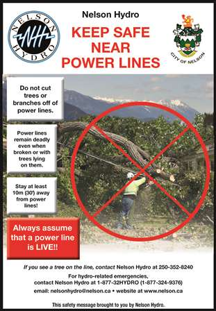 Keep Safe Near Power Lines