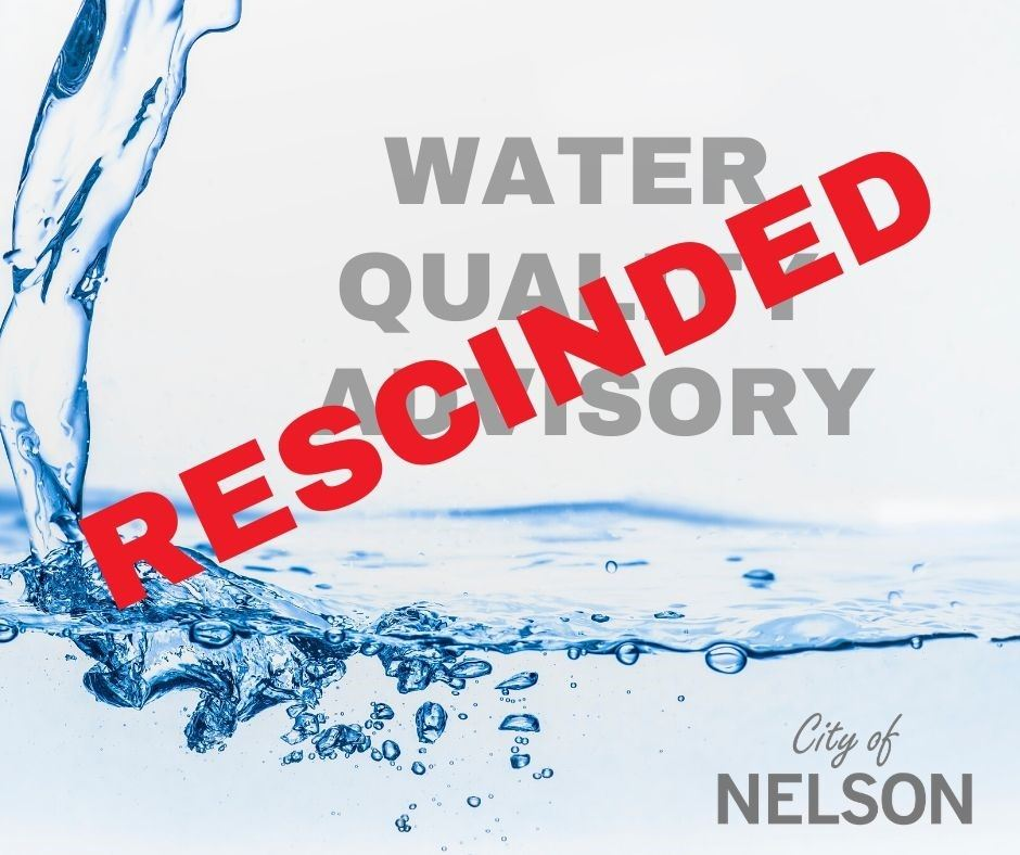 Rescinded WATER QUALITY ADVISORY