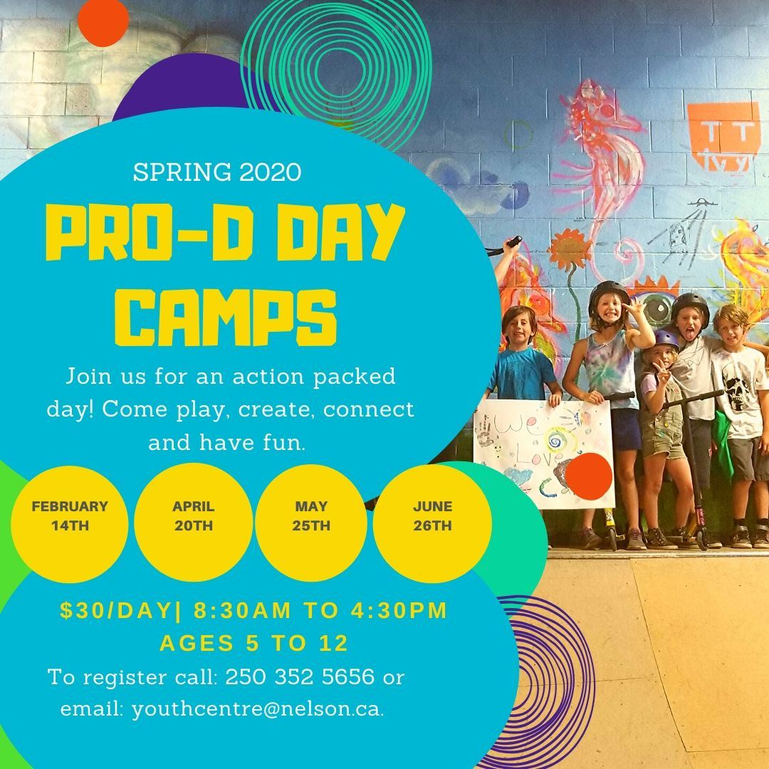 Copy of Copy of Pro-d Day camps